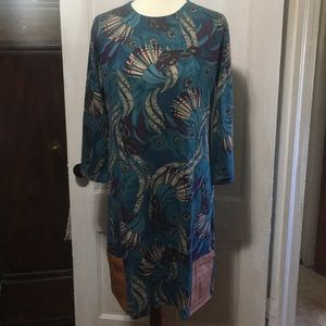 🌺🌺The Teal Peacock Dress🌺🌺